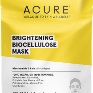 ACURE Brightening Biocellulose Mask 20ml