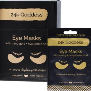 24K GODDESS Active Gold Eye Masks x 10