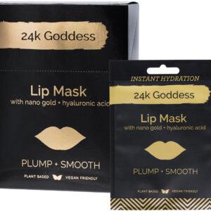 24K GODDESS Active Gold Lip Mask x10